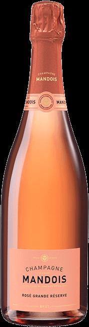 Bouteille Brut Rosé Grande Réserve Mandois