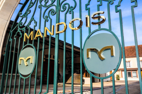 Photo grille Champagne Mandois