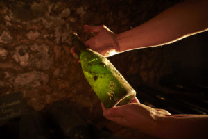 bouteille 1953 vieux millesimes champagne mandois cave