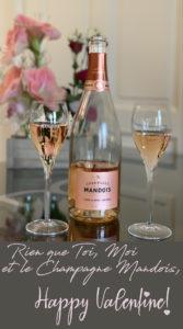 ST VALENTIN Brut Rosé Grande Réserve