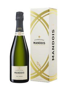 Etui 1 bouteille Brut Origine Champagne Mandois