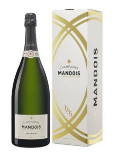 Etui Magnum Champagne Mandois Brut Origine