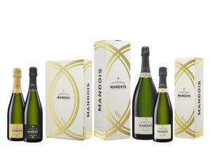Gamme Coffrets Champagne Mandois