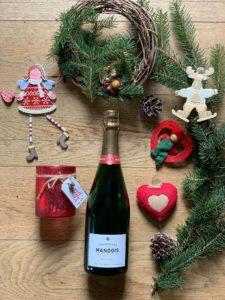 Brut Zéro Champagne Mandois Noel