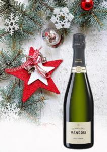 Brut Origine Champagne Mandois Noel