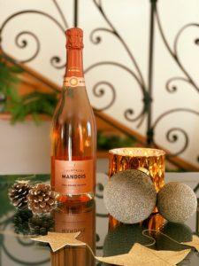 Brut Rosé Grande Réserve Champagne Mandois Noel
