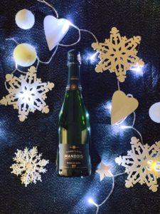 Blanc de Noirs Champagne Mandois Noel